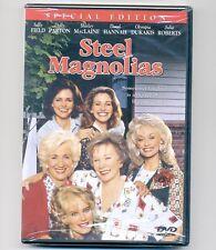 Steel Magnolias DVD movie Sally Field, MacLaine, Dukakis, Parton, Hannah Roberts