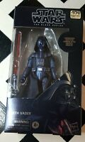 Hasbro -- Star Wars; The Black Series: Carbonized Darth Vader