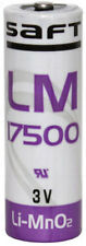 SAFT LM17500 A Size 3V 3000mAh High Power Lithium Battery - Non-Rechargeable