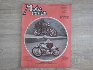 2x MOTO REVUE Nr 960 + 962  (Oct/Nov 1949) Nouveautés Salon + Cyclomoteurs