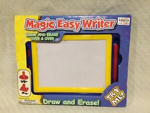 Polyfect MAGIC EASY WRITER BLUE & YELLOW DRAW & ERASE OVER & OVER & OVER AGAIN