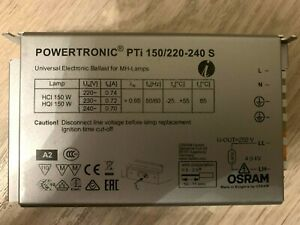 PTi 150/220…240 S POWERTRONIC INTELLIGENT PTi S | ECG for HID lamps, for install