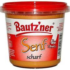 (0,50�'�/100ml) Bautzner Senf scharf (200 ml)