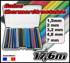 995ML# assortiment 17,6m gaine thermo 2/1  1,5 - 2 - 3,2 - 4,8 - 7mm