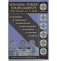 Winning Poker Tournaments One Hand at a Time 9780974150277 by Eric Lynch, Vol 1