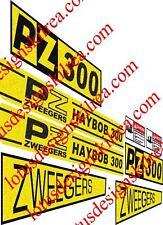 PZ Haybob 300 stickers / decals