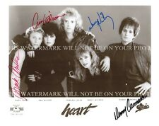 HEART GROUP BAND SIGNED AUTOGRAPHED 8x10 RP PROMO PHOTO ANN NANCY WILSON