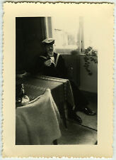 PHOTO ANCIENNE - MILITAIRE MARIN BELGE ZM-FN  - SAILOR BELGIAN -Vintage Snapshot