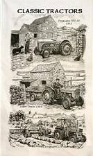 Classic Vintage Tractors  design Tea Towel  Gift NEW