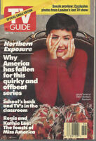 JANINE TURNER Northern Exposure 1991 TV Guide Small Format No Address Label