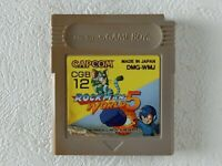 Rockman World 5 V Mega Man GB CAPCOM Nintendo Gameboy From Japan