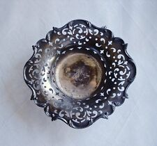 Derby Silver American Antique Presentation Dish Silver Plate Articulated 03023