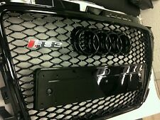 Audi A3 8P 2008 à 2013 front grill design RS3 gloss black edition uk