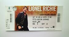LIONEL RICHIE TICKETS - Ticket Stub(s) / Memorabilia Swansea City FC 18/06/16