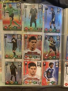 Panini World Cup 2010 Adrenalyn Xl Binder With 138 Cards 16 Specials Rare
