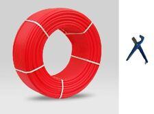 """1/2"""" PEXworx Oxygen-Barrier Pex Tubing - 1000' [Red] w/Pex Tubing Cutter"""