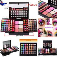 Pro 78 Colors Eyeshadow Palette Blush Lip Gloss Makeup Beauty Cosmetic Set Kits