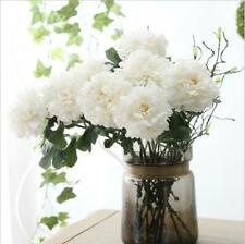38cm Artificial Silk Fake Large Peony Flowers Wedding Party Home Decor-3 colors