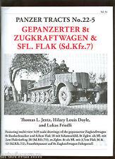 PANZER TRACTS # 22-5  Gepanzerter 8t Zugkraftwagen & Sfl.Flak (Sd.Kfz.7) new SB