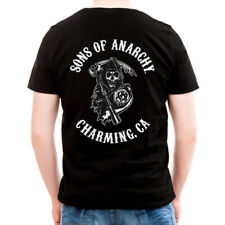 Officially Licensed Sons Of Anarchy - SOA Full CA Backprint Men's T-Shirt S-XXL