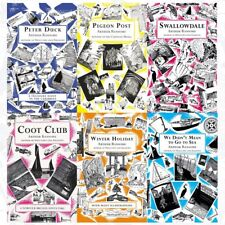 Arthur Ransome Swallows And Amazons 6 Books Collection Set Pack Coot Club NEW