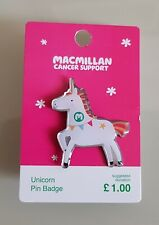 Macmillan Cancer support Official Pin Badges Buy All 6 Designs For £6 Plus £2-50