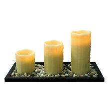Scented Vanilla Plastic Candles & Tea Lights
