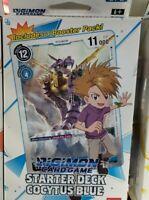 BLUE  Digimon Card Game Starter Deck Cocytus Blue English NEW SEALED