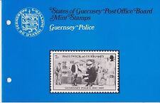 GUERNSEY PRESENTATION PACK MNH 1980 POLICE 10% OFF 5+