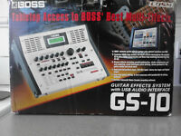 BOSS GS-10 Guitar Multi Effects Processor With USB Audio Interface