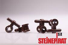LEGO® 4x 99021 *NEU* Pneumatik Schlauch / Verbinder /  dunkelbraun / 6167942