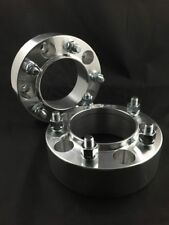 """4pc Hubcentric Wheel Spacers ¦ 5x5.5 To 5x5.5 50mm 2"""" Inch ¦ 12x1.25 Studs"""