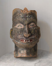 Antique 19th century INDIA large procession mask