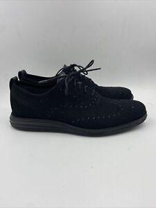 Cole Haan Mens Oxford Black/black Shoes Size 11.5 M , 058
