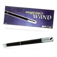 Magic Makers Magician Pro Wand (Black w/Chrome Tips)