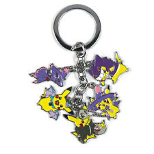 Pokemon Metal Keychain Pikachu Halloween Parade Golbat Duskull Mismagius Gengar