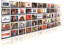 Europa cable HD 1 año CCCam para Satellite tv receptor 3 Clines WIFI FULL HD