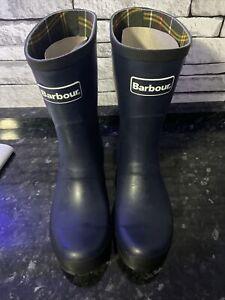 barbour wellington boots Wmhaw20 Size 7