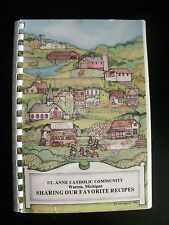 St. Anne Catholic Community of Warren, Michigan 1984 Vintage Community Cookbook