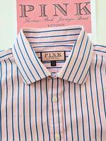 "Thomas Pink Men's Shirt - 17"" Collar - Really beautiful striped shirt"
