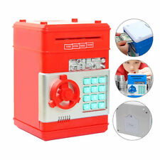 Piggy Bank Cash Coin Can Password Electronic Money Bank Safe ATM Kids Toy Gift