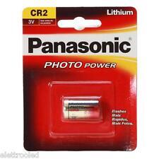 5 pile batterie CR2 PANASONIC Litio 3V DL CR2 K CR2 CR17355 spedizione tracciata