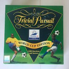 TRIVIAL PURSUIT WORLD CUP FRANCE 98 EDITION - PARKER 1997 (FREE P&P)