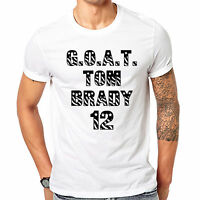 GOAT Tom Brady New England Football Patriots Celebration Super Bowl 2017 T Shirt