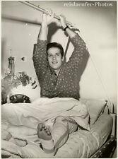 Alwin Schockemöhle im Krankenhaus. Original-Photo von 1969