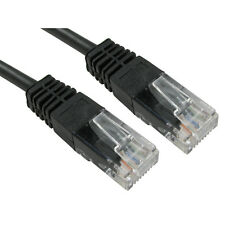 RJ45 Ethernet Network Cable Cat5e Lead 100% PURE COPPER LAN UTP Patch Wholesale
