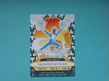 WALT DISNEY SORCERERS of the MAGIC KINGDOM CARD # 28 FROZONE'S ICE BLAST