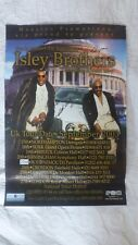 Isley Brothers - Original Autographs - Promo Poster