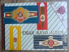 Willem II Cigar Band Album 1962 400 plus cigar labels Jasneva