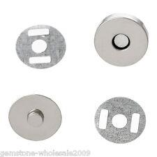 Wholesale 20 Lots Magnetic Purse Snap Clasps/ Closure Purse Handbag 14mm Dia GW